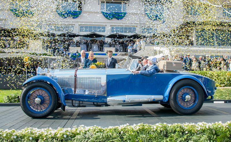 A 1929 Mercedes-Benz S Barker Tourer Wins Best Of Show At Pebble Beach