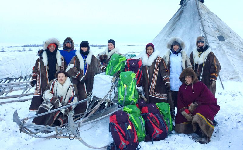 Women On A Mission: Walking On Ice In Siberia