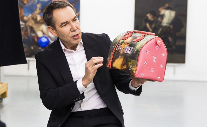 d7a9eac50394 Louis Vuitton And Jeff Koons Present A Fashionable Tribute To Art s Old  Masters
