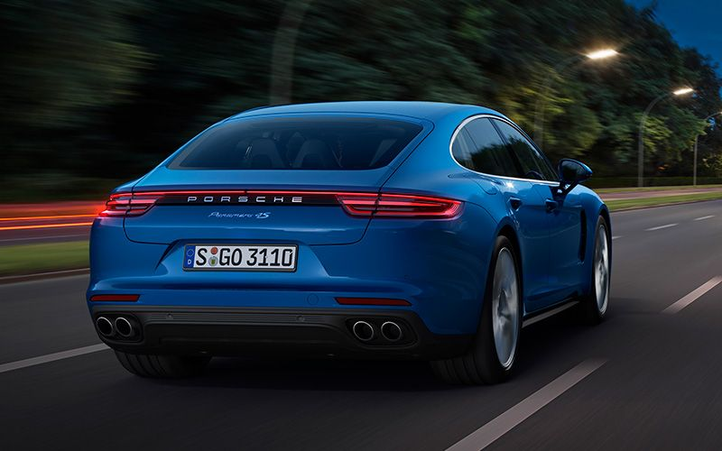 The New Porsche Panamera Is Here And Its Got A Sexy Back