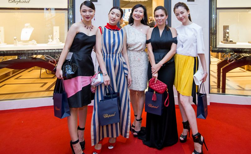 Chopard KLCC Reopens With A Chic And Cosy Welcome Party