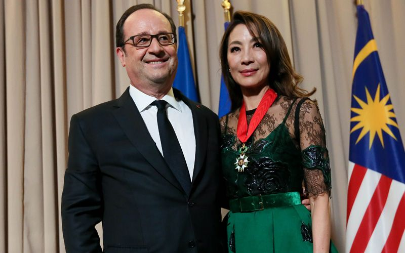 5 things to know about Tan Sri Michelle Yeoh and the Legion of Honour