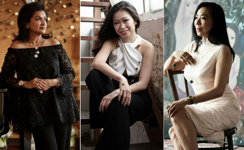 Van Cleef & Arpels Special: 3 women who evoke Lady Luck