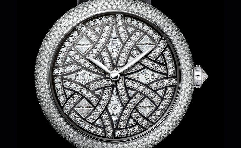 Chanel teases with the new Mademoiselle Privé Aubazine watch ahead of Baselworld 2017