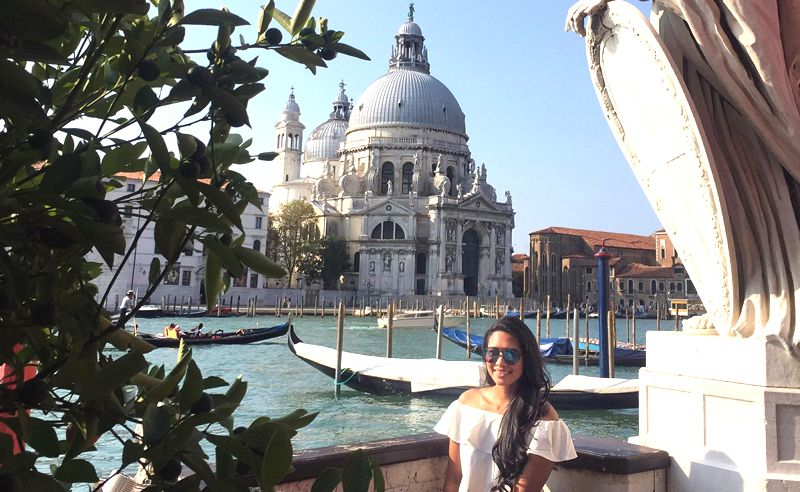 Zaida Ibrahim's Travel Diary: Asia's Most Stylish 2016 photo shoot in Venice