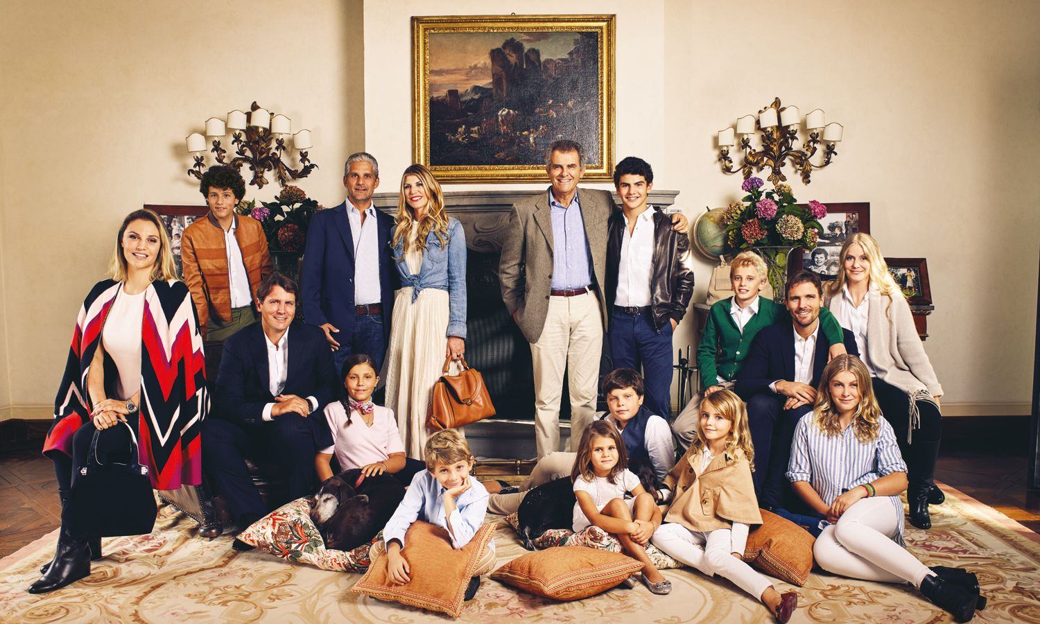Inside the luxurious Tuscan home of the Ferragamo family