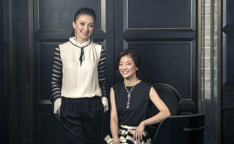 Carmen and Carmey Chua's great expectations
