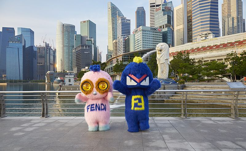 b17cdf98fbd0 Fendirumi hits up Singapore for the reopening of Marina Bay Sands  Fendi  store