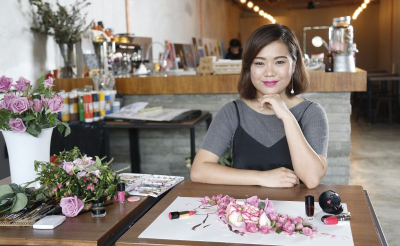 Lancôme Special: The artistry of roses by visual artist Limzy