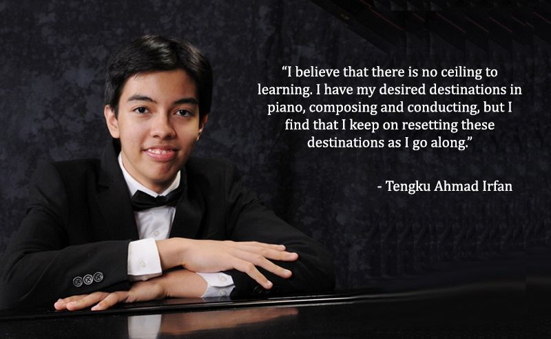 Bright Young Things: Tengku Ahmad Irfan