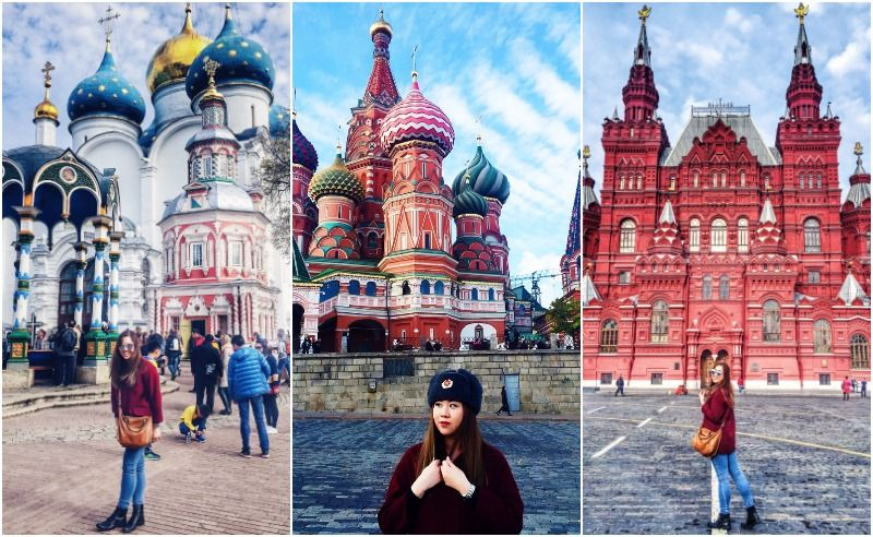 Sheena Teo's Travel Diary: Moscow and St Petersburg