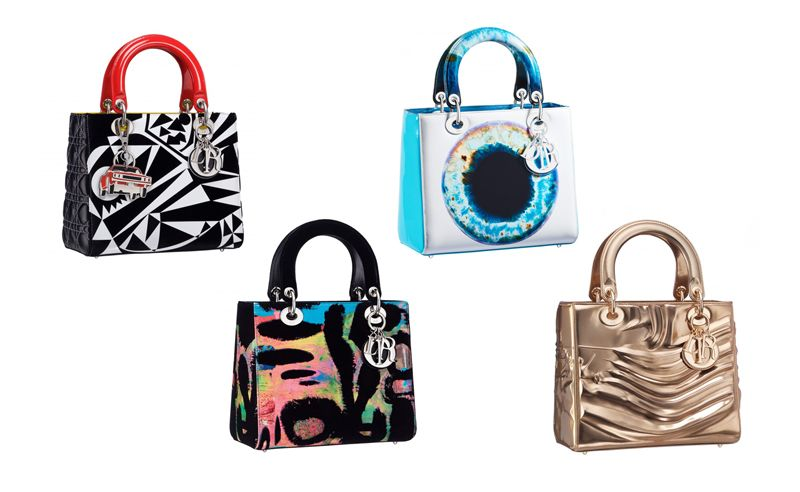 Lady Dior gets revamped by 7 different artists to gorgeous results
