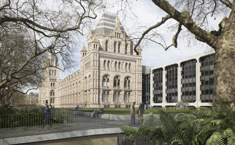 An extension and redesign are headed for London's Natural History Museum