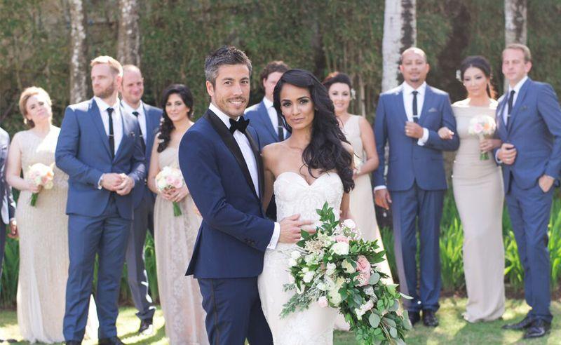 Destination Wedding Bells: Sepideh Haftgoli and Max Loong in Bali