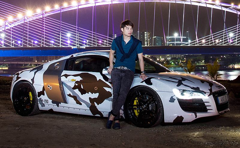 Men and Speed: Jason Tan and his Audi R8