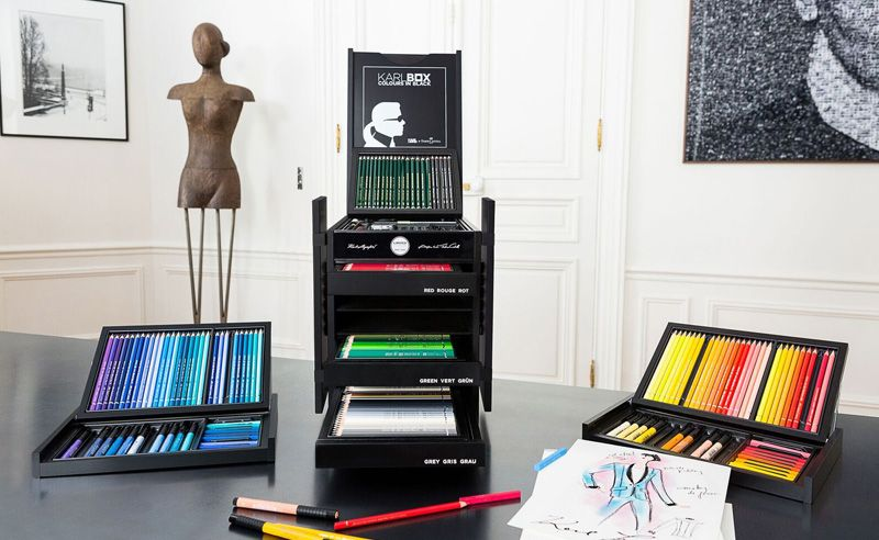 Art gets fashionable with Karl Lagerfeld x Faber-Castell's KARLBOX