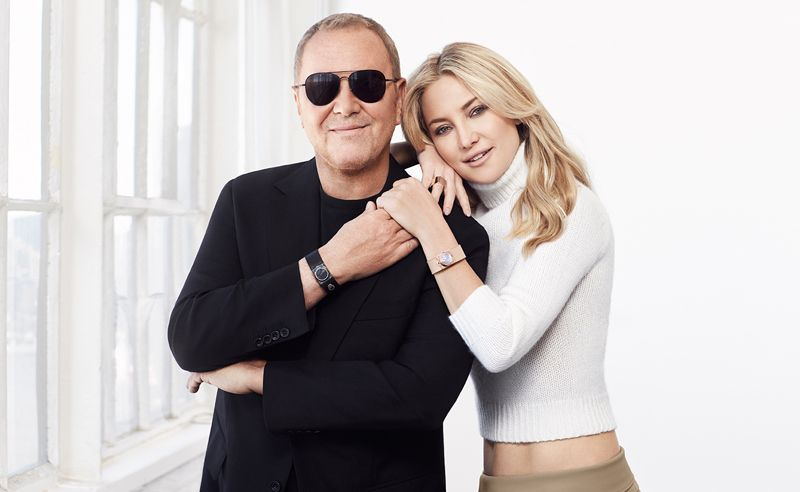 Michael Kors and Kate Hudson re-team to stop world hunger with new activity tracker