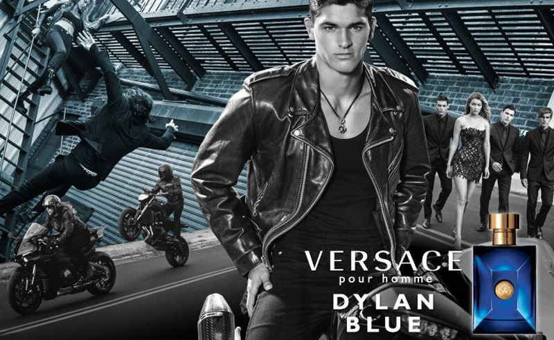 Versace has a new fragrance for men: Dylan Blue