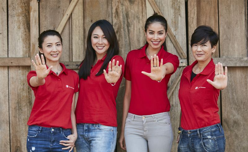 Jeanette Aw, Debbie Goh, Pham Huong and Hattaya Wongkrachang