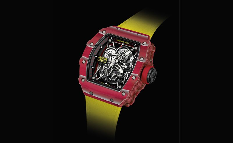 Rafael Nadal and Richard Mille present another new wristwatch for French Open 2016