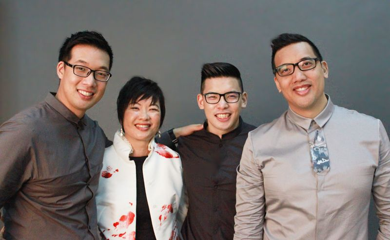 Boys to men: Single mum Ooi Piek See on raising 3 children on her own