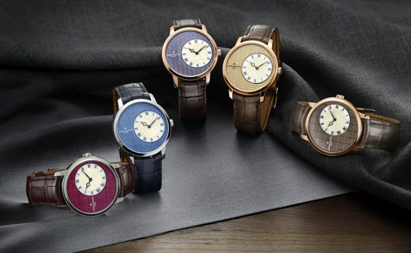 Vacheron Constantin's new watch line comes dressed in high-end men's tailoring