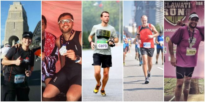 Runner's High: 5 society men on their passion for running