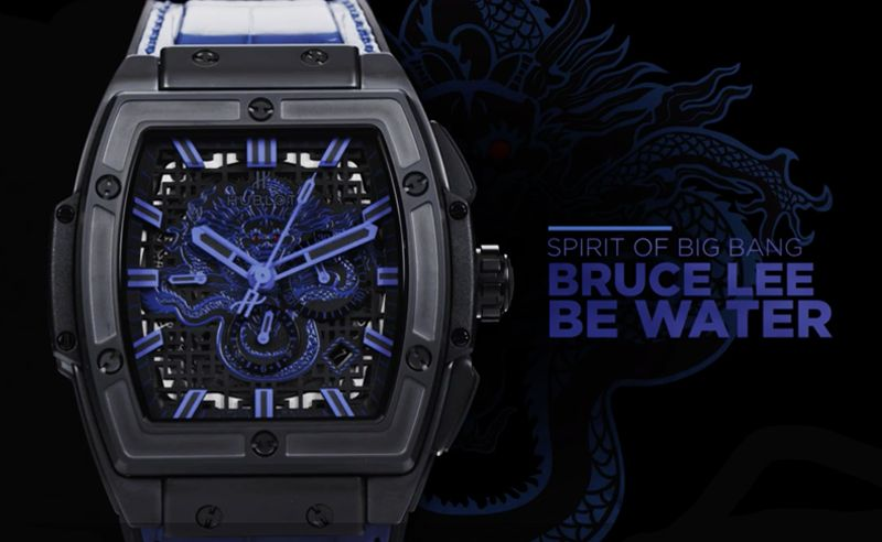 The Dragon returns with Hublot and the Bruce Lee Foundation