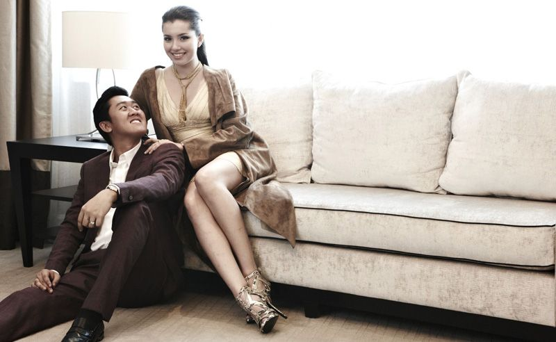 Tengku Harunnarasheed Putra and Che Puan Amelia Thripura Henderson