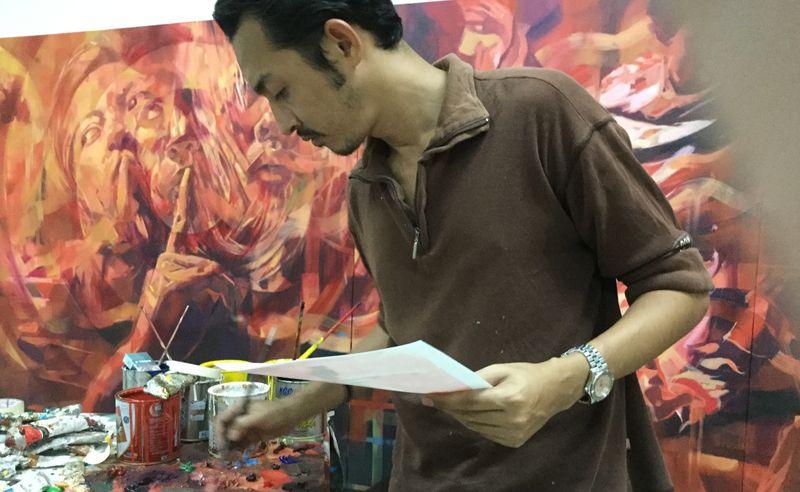 Ali Nurazmal Yusoff at Art Stage Singapore 2016