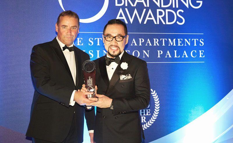 Richard Rowles, Chairman of the World Branding Forum and Datuk Kelvin Tan