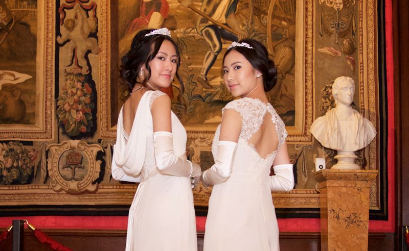 Rachel and Michelle Yeoh's journey to the Queen Charlotte's Debutante Ball