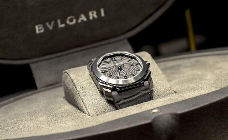 Bulgari Octo All Blacks 100 Club special watch