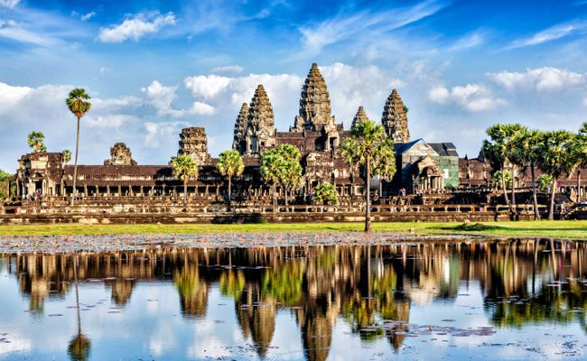 Image result for Angkor Wat, a UNESCO World Heritage Site in Cambodia