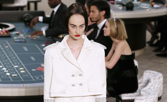Haute Couture Week: Karl Lagerfeld lays his cards on the table at Chanel couture