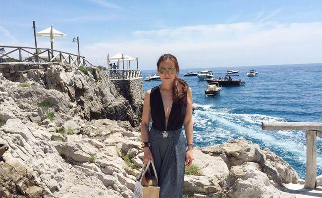 Melissa Sin, Capri, Italy