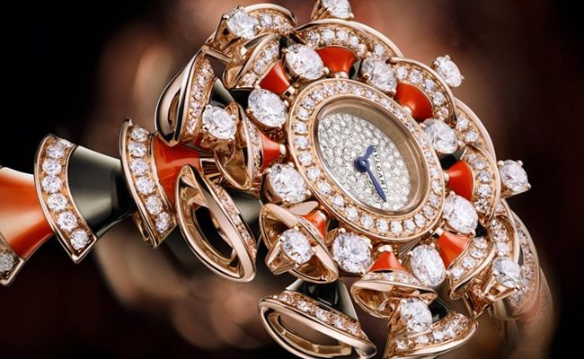 Bulgari Diva high jewellery watch 2015