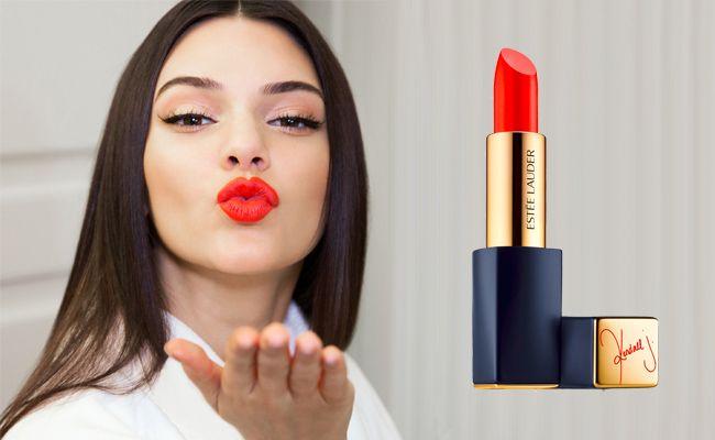 Estee Lauder x Kendall Jenner 'Restless' exclusive lipstick shade