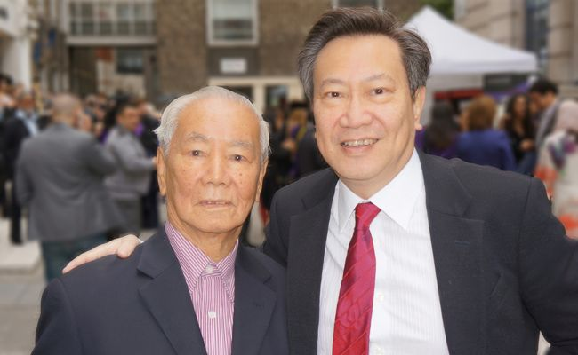 Foong Hon Cheong and Dato' Simon Foong