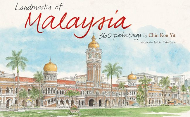 Landmarks of Malaysia 360 Paintings by Chin Kon yit