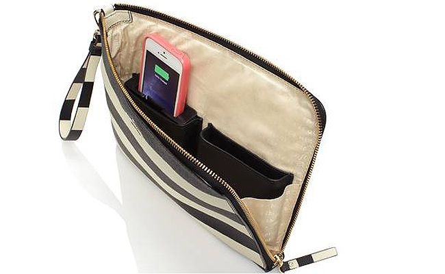 san francisco bf01a 895de Kate Spade's phone-charging bags will never leave you low on battery ...