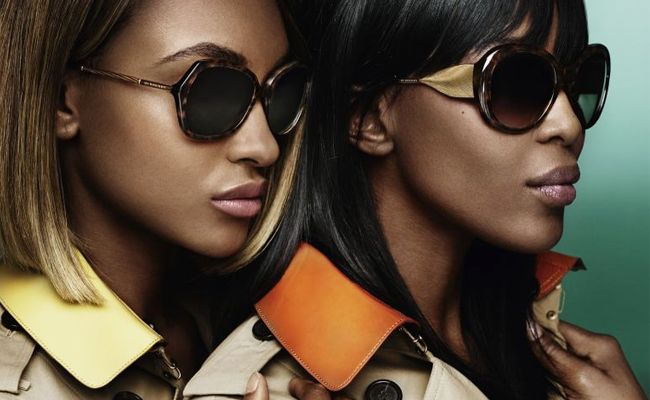 56363871953a Naomi Campbell and Jourdan Dunn star in new Burberry Gabardine Collection  campaign