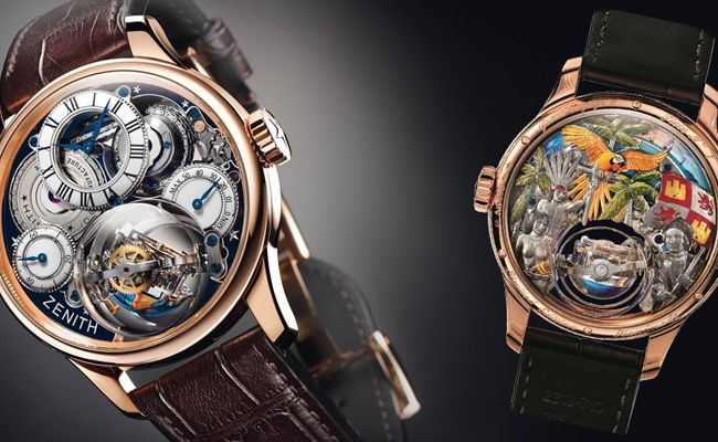 Baselworld 2015: Zenith Academy Christophe Colomb Hurricane Grand Voyage II