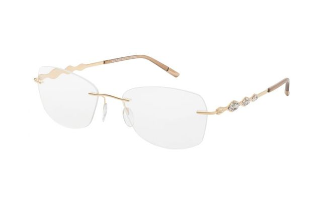 73703ae75dc Silhouette combines jewellery and eyewear in Swarovski crystal ...