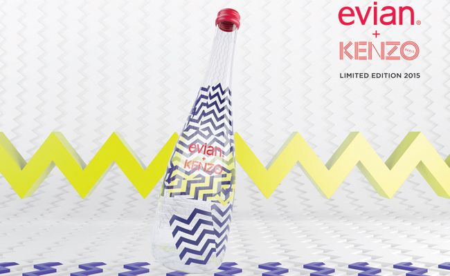 59b077f0 Evian launches limited edition Kenzo bottles   Malaysia Tatler