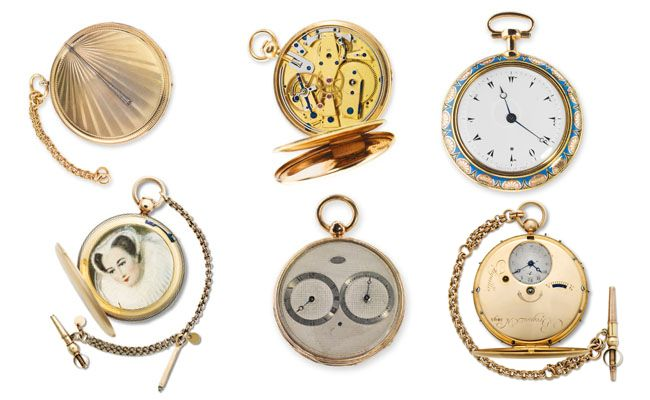 Breguet historical antique pocket watches