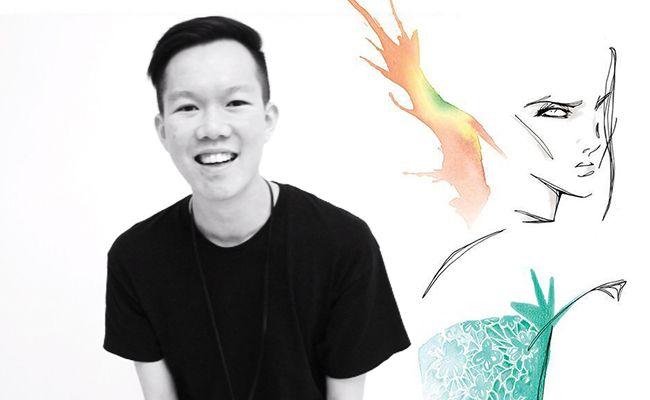 Fashion Designer Jonathan Liang