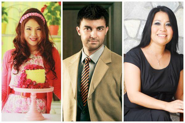 (L-R) Emilia Rosemawati Uzir, Dato' Shaheen Shah, Datin Lynda Ghazzali