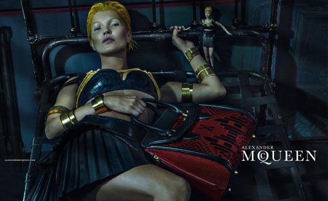 Kate Moss for Alexander McQueen Spring-Summer 2014 ©Alexander McQueen