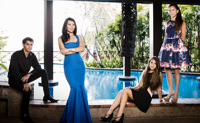 Datin Chai Schnyder and her children Ulysse, Timur and Enzia speak to Malaysia Tatler about moving on from the passing of Dato' Rolf Schnyder